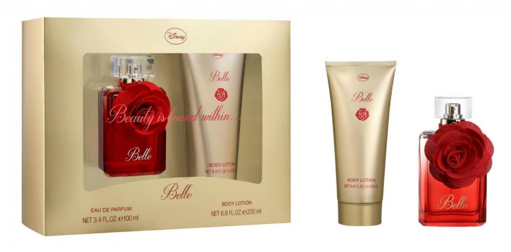 DISNEY - Eau de Parfum et Body Lotion - La Belle et la Bête - Belle