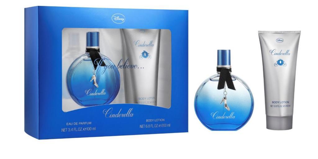 DISNEY - Eau de Parfum et Body Lotion - Cendrillon