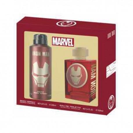 MARVEL - Parfum + Body Spray - Iron Man - Edition Speciale