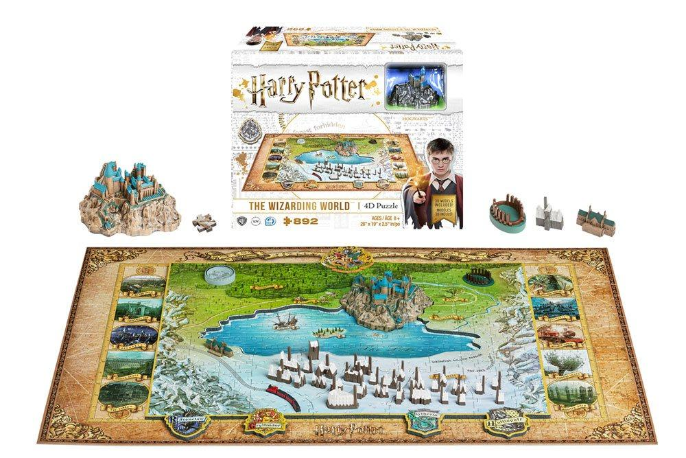 HARRY POTTER - 4D Puzzle - The Wizarding World 800 Pces