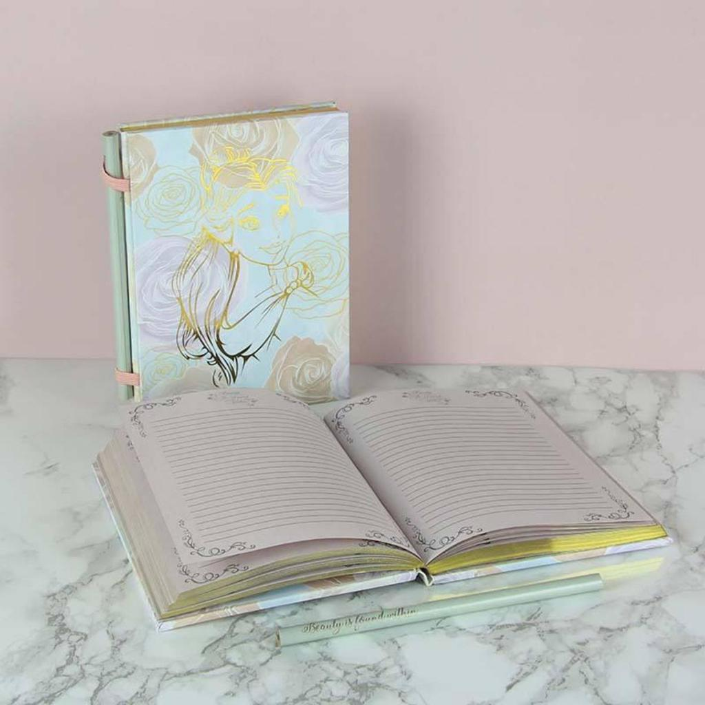 DISNEY PRINCESS - Belle Notebook with Pencil_1