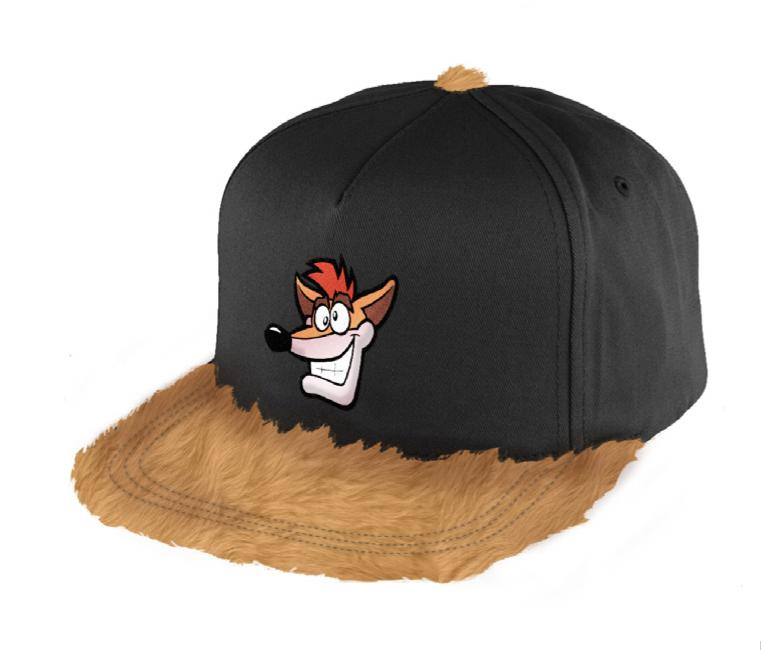 CRASH BANDICOOT - Casquette PREMIUM - Fury Crash