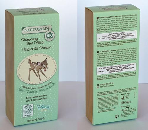 DISNEY - Baby - Bambi - Shampoing Ultra Doux - 200ml