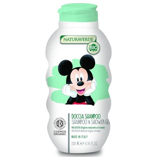 DISNEY - Kids - Mickey - Gel Douche & Shampoing - 200ml