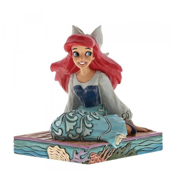 DISNEY Traditions - Be Bold Ariel Figurine - 9cm