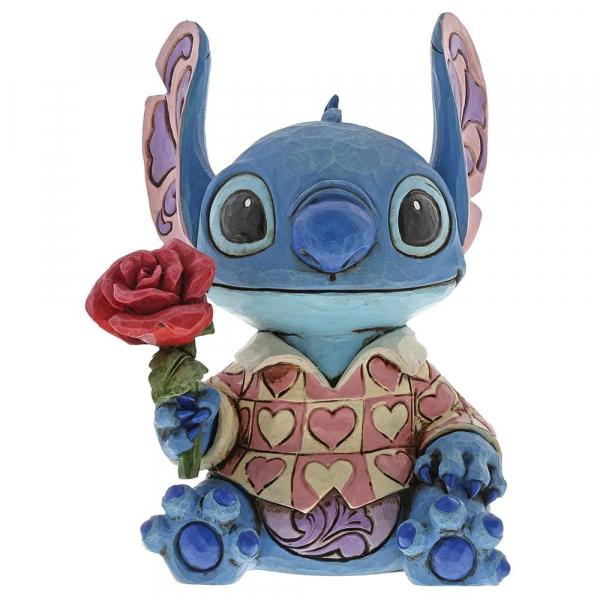 DISNEY Traditions - Stitch Clueless Casanova Figurine - 15.5cm