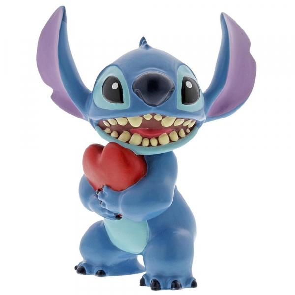 DISNEY Showcase Collection - Stitch Heart Figurine - 9cm