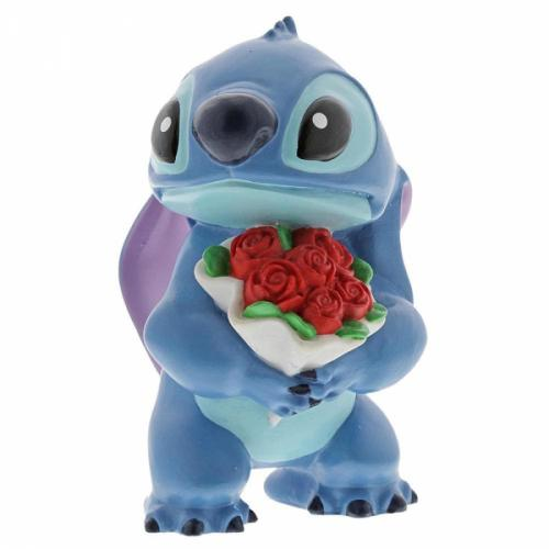 DISNEY Showcase Collection - Figurine Stitch Flowers - 9cm