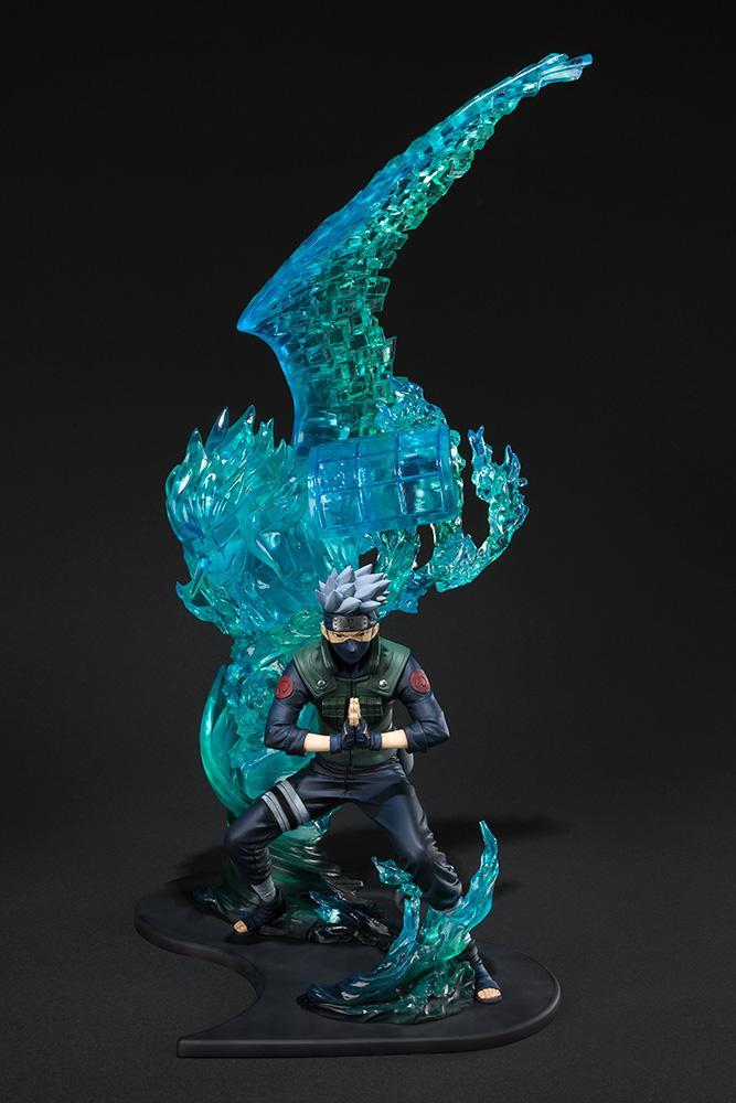 NARUTO ZERO - Kakashi Susanoo Relation Statue Figuarts - 43cm (Bandai)