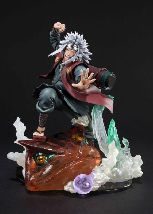 NARUTO ZERO - Jiraiya Kizuma Relation Statue Figuarts - 20cm (Bandai)