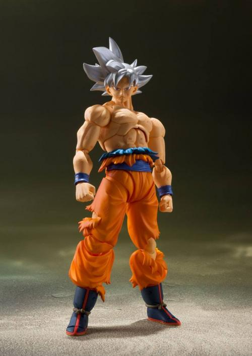 DRAGON BALL SUPER - Figurine Figuarts - Son Goku Ultra Instinct - 14cm