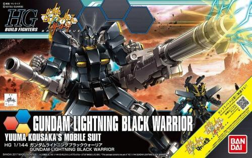 GUNDAM - HG Gundam Lightning Black Warrior 1/144 - Model Kit