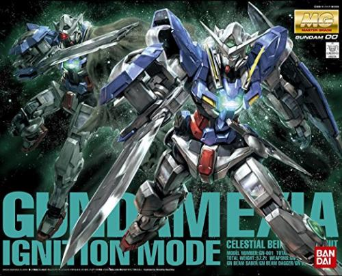 GUNDAM - MG 1/100 Gundam Exia Ignition Mode - Model Kit