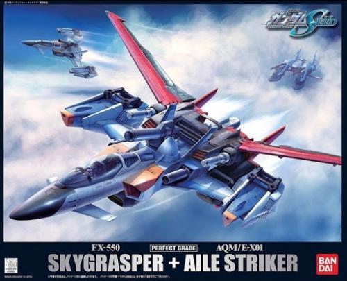 GUNDAM - PG 1/60 FX-550 Skygrasper + AQM/EX01 Aile Striker - Model KIt