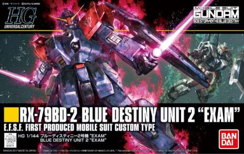 GUNDAM - HG RX-79BD-2 Blue Destiny Unit 2 'EXAM' 1/144 - Model Kit