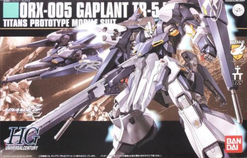 GUNDAM - HGUC 1/144 ORX-005 Gaplant TR-5 Hrairoo - Model Kit