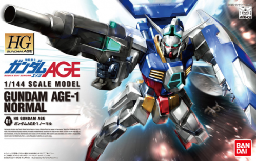 GUNDAM - HG Gundam Age-1 Normal 1/144 - Model Kit