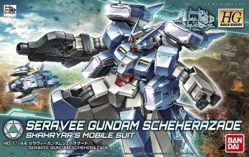 GUNDAM - HG Seravee Gundam Scheherazade 1/144 - Model Kit