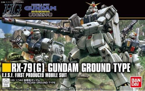 GUNDAM - HG RX-79 (G) Gundam Ground Type 1/144 - Model Kit