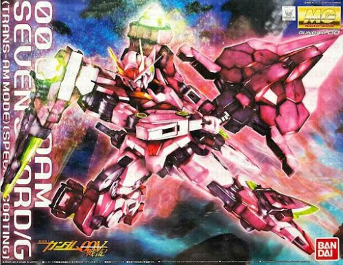 GUNDAM - MG 1/100 OO 7 Sword Trans-Am Special Coating - Model Kit