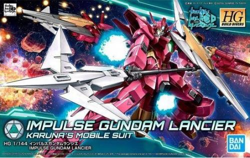GUNDAM - HG Impulse Gundam Lanche 1/144 - Model Kit