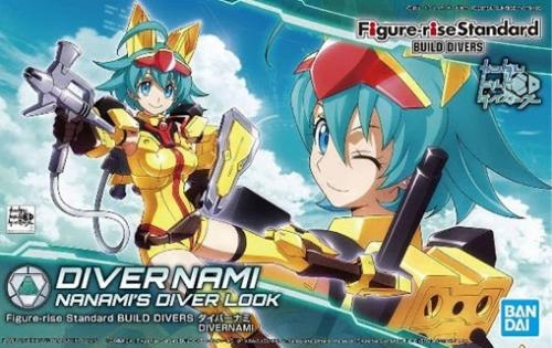 BUILD DIVERS - Figure-rise Standard Divernami Nanami's - Model Kit