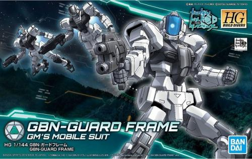 GUNDAM - HGBD 1/144 GBN-Guard Frame Build Divers - Model Kit