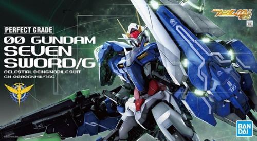 GUNDAM - PG 1/60 00 Gundam Seven Sword/G GN-0000GNHW/7SG - Model Kit