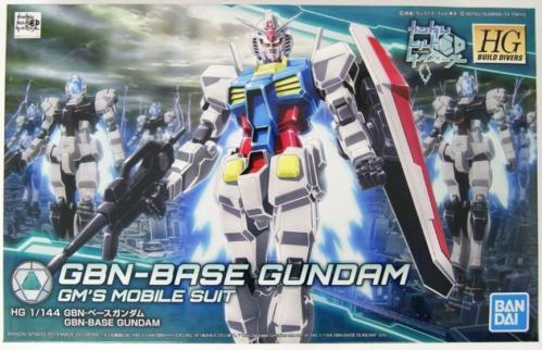 GUNDAM - HGBD 1/144 GBN-Base 00 SKY HWS (trans-am) - Model Kit
