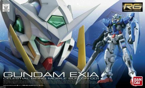 GUNDAM - RG 1/144 GN-001 Gundam Exia - Model Kit