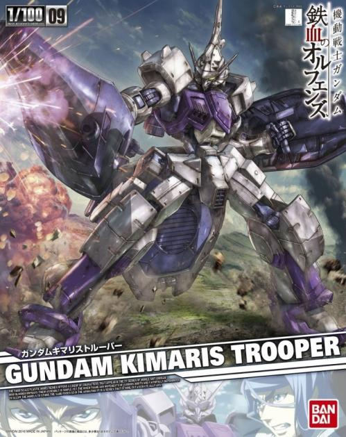GUNDAM - IBO 1/100 Gundam Kimaris Trooper - Model Kit - 18cm