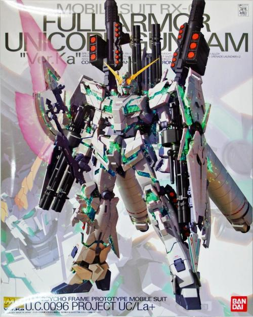 GUNDAM - MG 1/100 RX-0 Full Armor Unicorn Ver.Ka - Model Kit 18cm