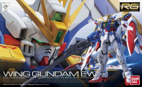 GUNDAM - RG 1/144 XXXG-01W Wing Gundam EW - Model Kit 13cm