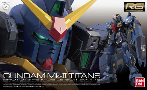 GUNDAM - RG 1/144 RX-178 Gundam MK-II Titans - Model Kit