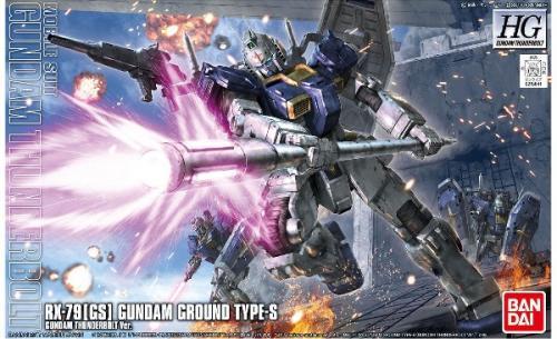 GUNDAM - HG RX-79 (GS) Gundam Ground Type-S 1/144 - Model Kit