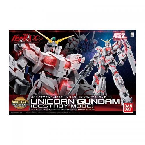 GUNDAM - MS Mega Size Unicorn Gundam Destroy Mode 1/48 - Model Kit
