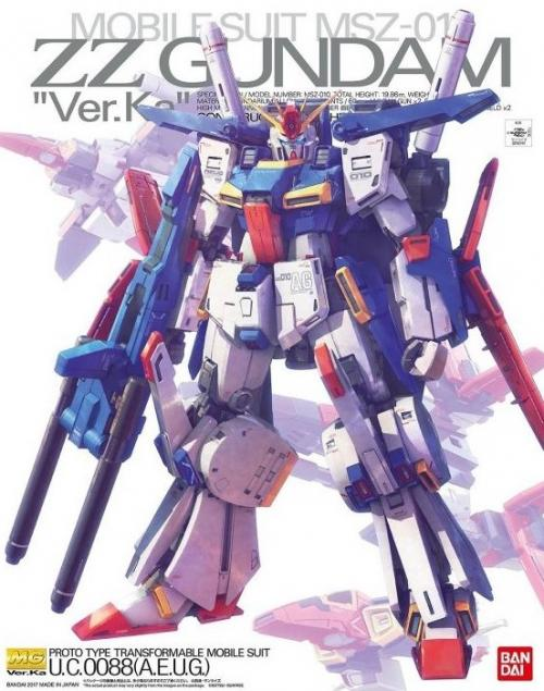 GUNDAM - MG 1/100 ZZ Gundam Ver. Ka (Campaign) - Model Kit