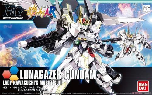 GUNDAM - HG Lunagazer Gundam 1/144 - Model Kit