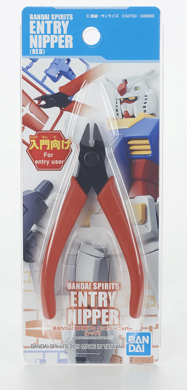GUNDAM ACC - Bandaispirits Entry Nipper - Pince coupante rouge