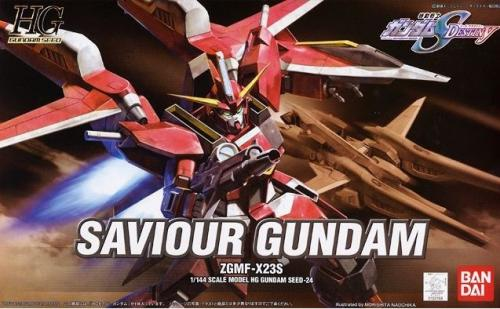 GUNDAM - HG Saviour Gundam 1/144 - Model Kit