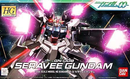 GUNDAM - HG Seravee Gundam 1/144 - Model Kit