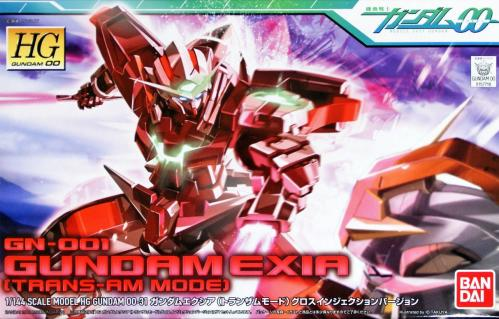 GUNDAM - HG 1/144 00 GN-001 Gundam Exia Trans-Am Mode - Model Kit