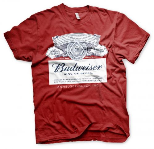 BEER - Budweiser Red Label - T-Shirt - (S)