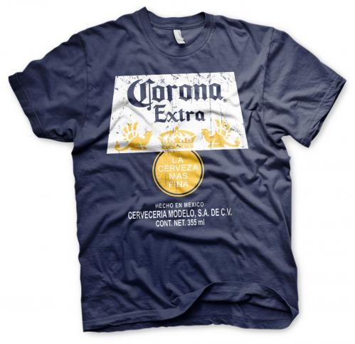 BEER - Corona Extra Washed Label - T-Shirt - (S)