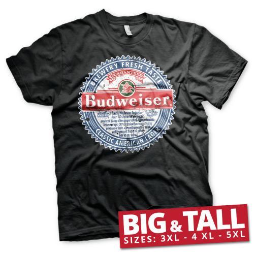 BUDWEISER - T-Shirt Big & Tall - American Lager (3XL)
