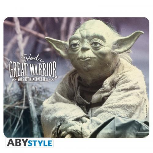 STAR WARS - Yoda Great Warrior - Tapis de Souris '23x20cm'