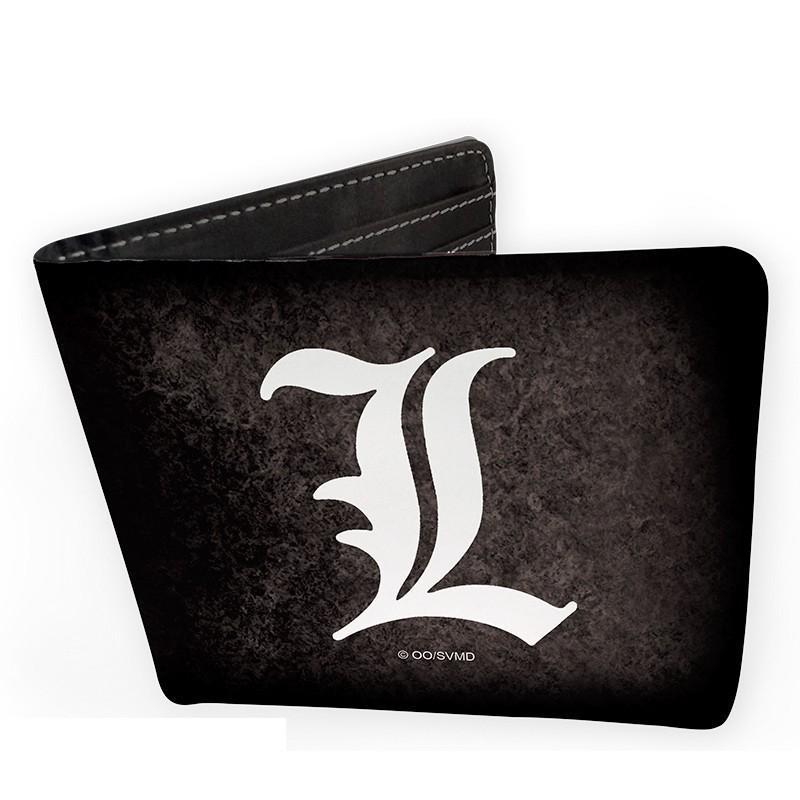 DEATH NOTE - Portefeuille Vinyle - L Symbol