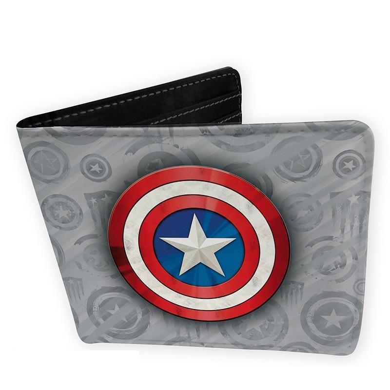 MARVEL - Portefeuille Vinyle - Captain America