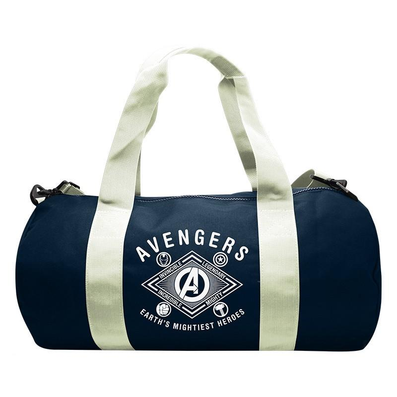 MARVEL - Sac de Sport - Avengers Earth's Mightiest Heroes - Navy