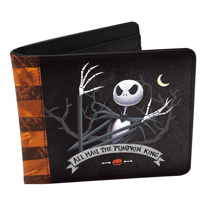 NIGHTMARE BEFORE CHRISTMAS - Portefeuille Vinyle - Jack
